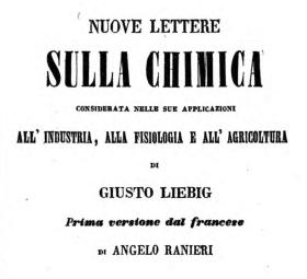 J. Liebig op. cit. Napoli 1852