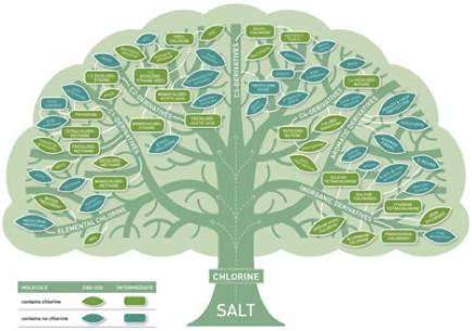 Un albero del cloro interattivo
