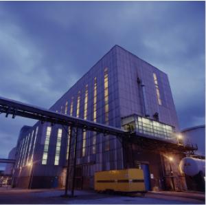 Impianto British Salt per la produzione di bicarbonato di sodio