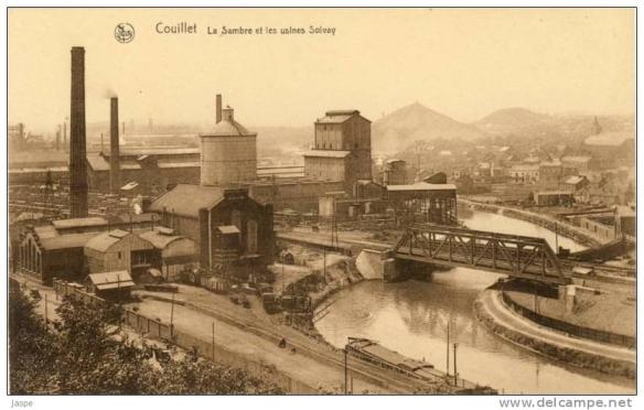 Usine Solvay Couillet