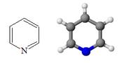 180px-Piridina_struttura_modello