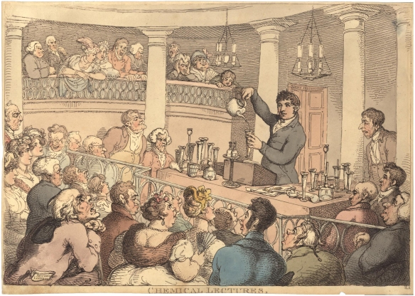 Rowlandson_-_Chemical_Lectures2