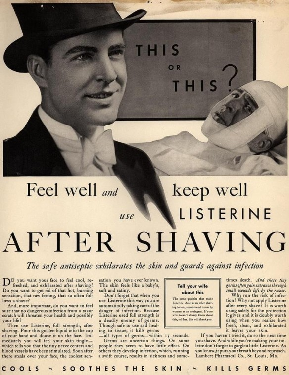 after-shaving